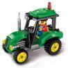 Enlighten 1102 (NOT Lego City Tractor ) Xếp hình Máy Kéo 112 khối
