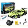 Doublee Cada C51007 C51007W (NOT Lego Technic Sports Car ) Xếp hình Xe Thể Thao Động Cơ Pin Xạc Điều Khiển Từ Xa 453 khối