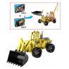 Double E Cada C52014 C52014W (NOT Lego Technic Wheeled Loader ) Xếp hình Xe Ủi Bánh Hơi Kéo Thả 213 khối