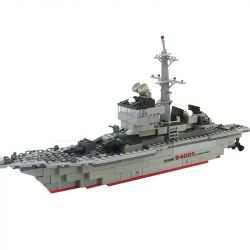 Kazi Gao Bo Le Gbl Bozhi KY84005 (NOT Lego Military Army Kamikaze Frigate ) Xếp hình Tàu Khu Trục Kamikaze 228 khối