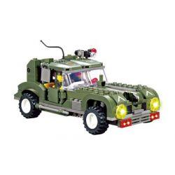 Kazi Gao Bo Le Gbl Bozhi KY84001 (NOT Lego Military Army Chase Wind Chariot ) Xếp hình Xe Chở Sỹ Quan 251 khối