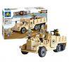 Kazi Gao Bo Le Gbl Bozhi KY82003 (NOT Lego Military Army M2 Half Track ) Xếp hình Xe Tải Nửa Bánh Xích 205 khối