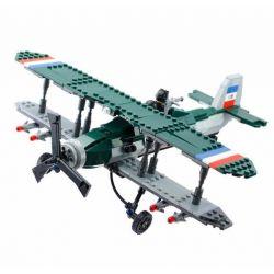 Kazi KY82002 82002 Xếp hình kiểu Lego Century Military Bristol F.2B Fighter Century Military British Royal Air Force Bristol F.2B Fighter Máy Bay Chiến đấu 402 khối