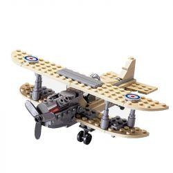 Kazi KY82001 82001 Xếp hình kiểu Lego Century Military Sopwith F-1 Camel Century Military British Royal Air Force Camel F-1 Fighter Máy Bay Chiến đấu 126 khối