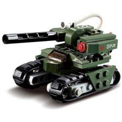 Kazi KY81013 81013 Xếp hình kiểu Lego RED ALERT 3 RED ALERT 3 Hammer Tank Red Warning Xe Tăng Thế Hệ Mới 103 khối
