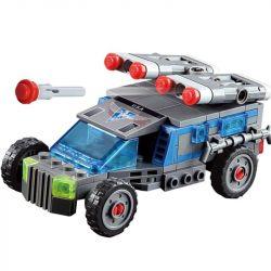 Kazi KY81011 81011 Xếp hình kiểu Lego RED ALERT 3 RED ALERT 3 Multigunner IFV Red Warning Multi-function Infantry Fighting Car Ô Tô Gắn Rocket 152 khối