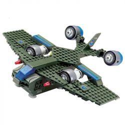 Kazi KY81006 81006 Xếp hình kiểu Lego RED ALERT 3 RED ALERT 3 Century Bomber Red Warning Máy Bay Ném Bom Thế Kỷ 220 khối