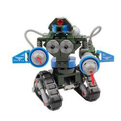 Kazi KY81004 81004 Xếp hình kiểu Lego RED ALERT 3 RED ALERT 3 Coming Tank X2 Red Warning Future Tank X-2 Robot Bánh Xích 168 khối