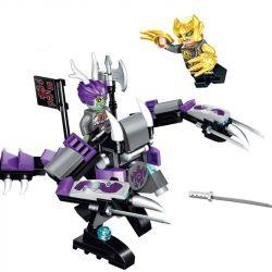 Enlighten 2204 Qman 2204 Xếp hình kiểu Lego CREATION OF THE GODS God Battle Dragon War Armor Bộ Giáp Rồng Của Cao Bính 137 khối