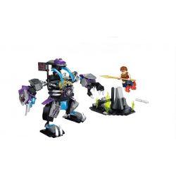 Enlighten 2206 Qman 2206 Xếp hình kiểu Lego CREATION OF THE GODS Demon Robot God Battle Magic Người Máy Quái Vật 235 khối