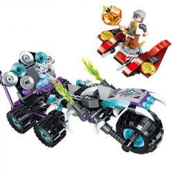 Enlighten 2207 Qman 2207 Xếp hình kiểu Lego CREATION OF THE GODS Noise Harley God Battle Magic Xe Mô Tô ồn ào 210 khối
