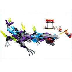 Enlighten 2211 Qman 2211 Xếp hình kiểu Lego CREATION OF THE GODS NEZHA Conquers The Dragon God Battle Where Is The Dragon? Đại Chiến Rồng 338 khối