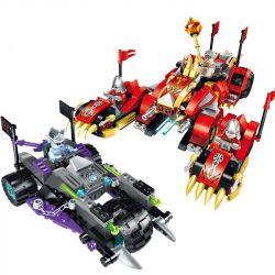 Enlighten 2214 Qman 2214 Xếp hình kiểu Lego CREATION OF THE GODS Fire KYLIN Tank God Battle Chitung Chariot Xe Tăng Lửa Kylin 478 khối