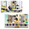 Wange 31051 (NOT Lego City Cream Colored Villa ) Xếp hình Biệt Thự Màu Kem 405 khối
