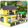 Wange 32051 (NOT Lego Creator Villa With Garden ) Xếp hình Biệt Thự Có Vườn 449 khối