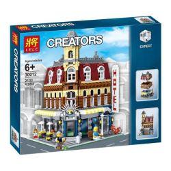 NOT LEGO Creator Expert 10182 Cafe Corner, KING 84002 Leji LJ99014 Lele 30012 Lepin 15002 Pogo 10001 Xếp hình Quán Cafe Góc Phố 2056 khối
