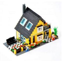 WANGE DR.LUCK 32052 Xếp hình kiểu Lego CITY INN CityInn Ordinary Villa Series B Biệt Thự Biển 458 khối