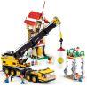 Sluban M38-B0553 (NOT Lego City Telescopic Crane ) Xếp hình Cần Cẩu Di Động 767 khối