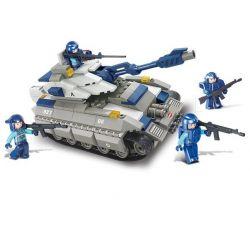 Sluban M38-B0205 (NOT Lego SWAT Special Force Mammoth Tank ) Xếp hình Xe Tăng Lực Lượng Đặc Nhiệm 260 khối