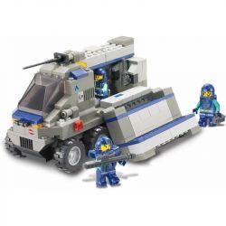 Sluban M38-B0201 (NOT Lego SWAT Special Force Warfield Support Vehicle ) Xếp hình Xe Bọc Thép Hỗ Trợ 267 khối