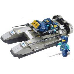 SLUBAN M38-B0197 B0197 0197 M38B0197 38-B0197 Xếp hình kiểu Lego SWAT SPECIAL FORCE Attack Yacht Xuồng cao tốc gắn rocket 164 khối
