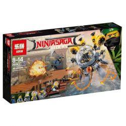 Lepin 06062 Bela 10725 (NOT Lego Ninjago Movie 70610 Flying Jelly Sub ) Xếp hình Tàu Ngầm Sứa 368 khối