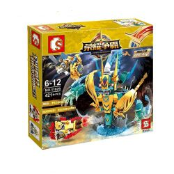 SEMBO 11829 Xếp hình kiểu Lego KING OF GLORY HEGEMONY Kriknak Tay Sai Kriknak 421 khối