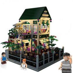 XINGBAO XB-01202 01202 XB01202 Xếp hình kiểu Lego CREATOR Romantic Heart Romantic Atrium Ngôi Nhà Lãng Mạn 1500 khối