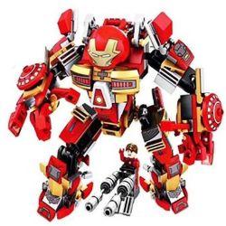 Sembo 60001 (NOT Lego Super Heroes Iron Man Mk16 ) Xếp hình Người Sắt Mk16 339 khối
