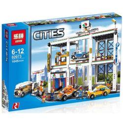 NOT Lego CITY 4207 City Garage , LEPIN 02073 Xếp hình Gara để Xe Công Cộng 933 khối