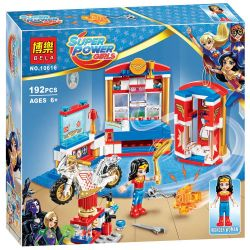 Sheng Yuan 885B SY885B Bela 10616 (NOT Lego DC Super Hero Girls 41235 Wonder Woman Dorm Room ) Xếp hình Căn Hộ Của Wonder Woman 186 khối