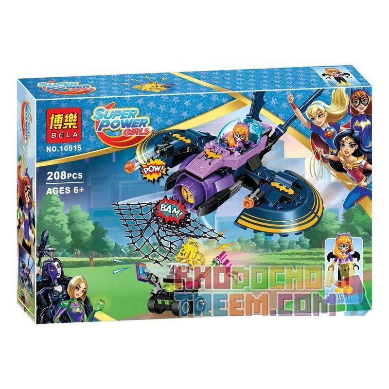 Sheng Yuan 885A SY885A Bela 10615 (NOT Lego Super Hero Girls 41230 Batgirl Batjet Chase ) Xếp hình Phi Thuyền Của Dơi Nữ 206 khối