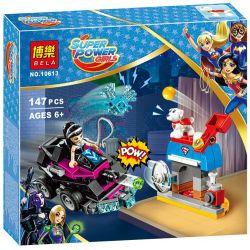 Bela 10613 Lari 10613 SHENG YUAN SY SY884A 884A Xếp hình kiểu Lego DC SUPER HERO GIRLS Lashina Tank Rashna Tank Xe Tăng Của Lashina 145 khối