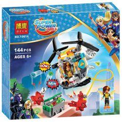 Bela 10614 Lari 10614 SHENG YUAN SY SY884B 884B Xếp hình kiểu Lego DC SUPER HERO GIRLS Bumblebee Helicopter Horizontal Helicopter Trực Thăng Của Bumblebee 142 khối