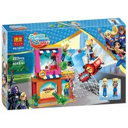Bela 10617 Lari 10617 SHENG YUAN SY SY886 Xếp hình kiểu Lego DC SUPER HERO GIRLS Harley Quinn To The Rescue Halle Quini Rescue Cuộc Giải Cứu Harley Quinn 217 khối