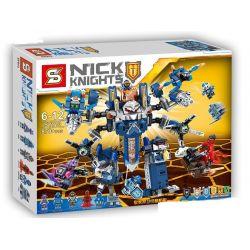 SHENG YUAN SY SY913 Xếp hình kiểu Lego NEXO KNIGHTS Nick Knights Royal Guards Ultimate Machic Người Giám Hộ Hoàng Gia 870 khối