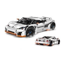 LEPIN 20052 REBRICKABLE MOC-2811 2811 MOC2811 Xếp hình kiểu Lego TECHNIC Predator Supercar Predator Super Sports Car Siêu Xe Predator Thiết Mộc-2811 1797 khối
