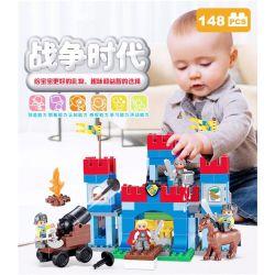NOT Lego Duplo DUPLO 10577 Big Royal Castle, HYSTOYS HONGYUANSHENG AOLEDUOTOYS  HG-1651 1651 HG1651 Xếp hình Lâu đài hoàng gia 148 khối