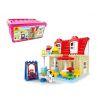 Hystoys Hongyuansheng Aoleduotoys HG-1420 (NOT Lego Duplo Family House ) Xếp hình Nhà Bà Nội 42 khối