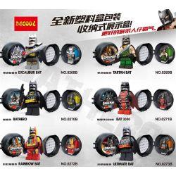 Decool 0268B 0269B 0270B 0271B 0272B 0273B (NOT Lego Batman Movie Marvel Super Hero Batman ) Xếp hình Sieu Anh Hùng Batman gồm 6 hộp nhỏ 6 khối
