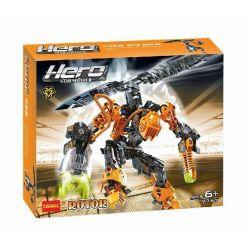 NOT Lego HERO FACTORY 7162 Hero Factory Rotor , Decool 9367 Jisi 9367 Xếp hình Cánh Quạt Gắn Lưng 145 khối