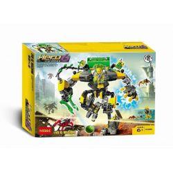 NOT Lego HERO FACTORY 44022 EVO XL Machine Hero Factory Wings XL Machine , Decool 10489 Jisi 10489 Xếp hình Cỗ Máy EVO XL 193 khối