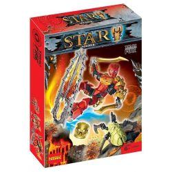 Decool 10666 Xinh 6010 XSZ KSZ 708-3 (NOT Lego Bionicle 70787 Tahu - Master Of Fire ) Xếp hình Thần Lửa Tahu 89 khối
