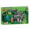 Lepin 18026 Decool 827 Bela 10623 (NOT Lego Minecraft 21132 The Jungle Temple ) Xếp hình Ngôi Đền Trong Rừng 598 khối