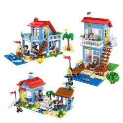 Lele 33019 (NOT Lego Creator 7346 Seaside House ) Xếp hình Nhà Của Hải Tặc 470 khối