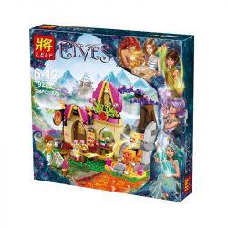 NOT Lego ELVES 41074 Azari And The Magical Bakery, Bela 10412 Lari 10412 LELE 79222 Xếp hình Azari và tiệm bánh ma thuật 324 khối