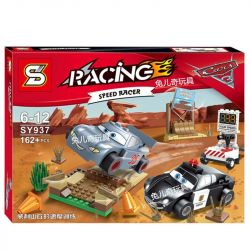 Sheng Yuan 937 SY937 Bela 10685 (NOT Lego Cars 10742 Willy's Butte Speed Training Kit ) Xếp hình Dạy Đua Xe 162 khối