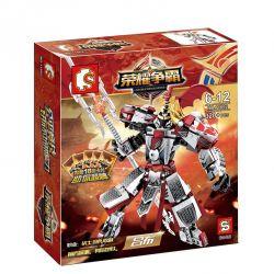LEPIN 40004 SEMBO 11802 Xếp hình kiểu Lego KING OF GLORY HEGEMONY King Hero Lu Bu Lữ Bố 320 khối