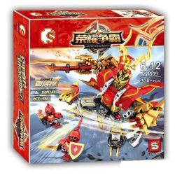 Sembo 11809 (NOT Lego King of Glory Hegemony King Of Glory: Xia Hou Chun ) Xếp hình Game Liên Quân: Hạ Hầu Đôn 338 khối