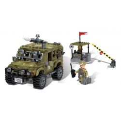 XINGBAO XB-06012 06012 XB06012 Xếp hình kiểu Lego ACROSS THE BATTLEFIELD Across The Battlefield Ryan Jeep Ruian Jeep Xe Jeep Giải Cứu 497 khối